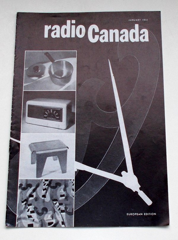 Programmheft radio Canada European Edition January 1951